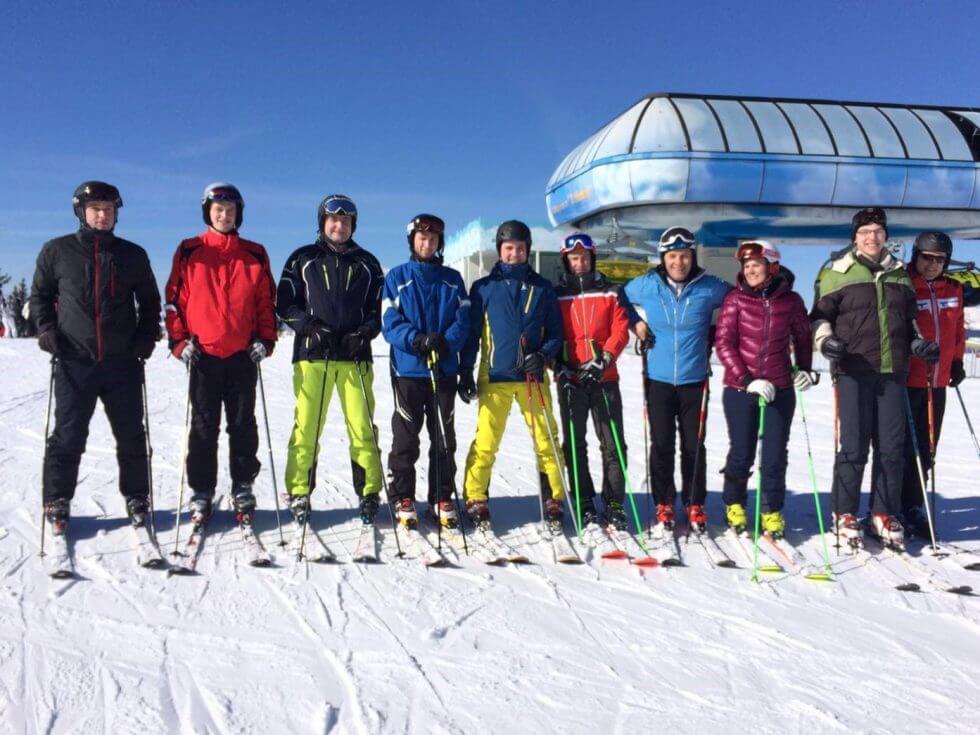Skitag mit der Firma x-tention in Schladming Feb 2016